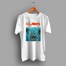 Cute Claws Jaws Movie Parody T Shirt