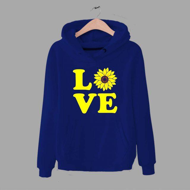 Cute Love Sunflower Unisex Hoodie