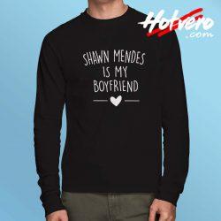 Cute Shawn Mendes is Boyfriend Long Sleeve Shirt