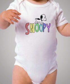Cute Snoopy Dog Baby Onesie Bodysuit