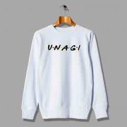 Cute Unagi Friends TV Show Unisex Sweatshirt Parody