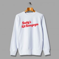 Daddy Lil Demogorgon Stranger Things Unisex Sweatshirt