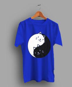 Deals On Cat Yin Yang Kitten Cute T Shirt