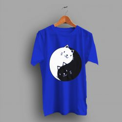 Deals On Cat Yin Yang Kitten Cute T Shirt