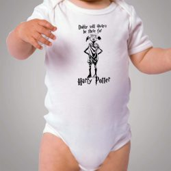 Dobby Will Always Be There For Harry Potter Baby Onesie