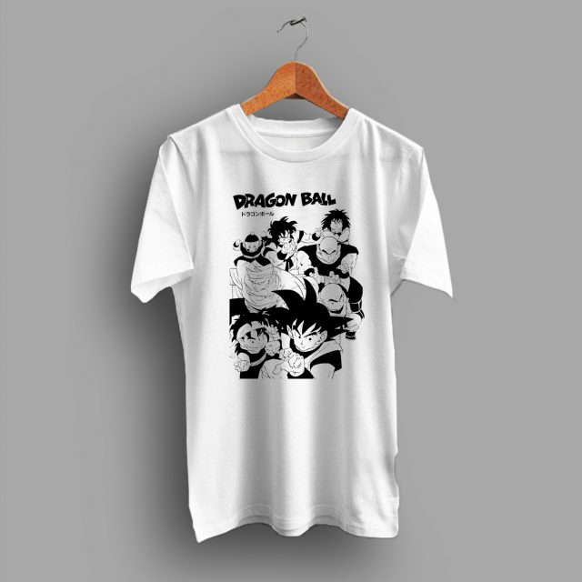 Dragon Ball Japanese Cartoon Characters T Shirt