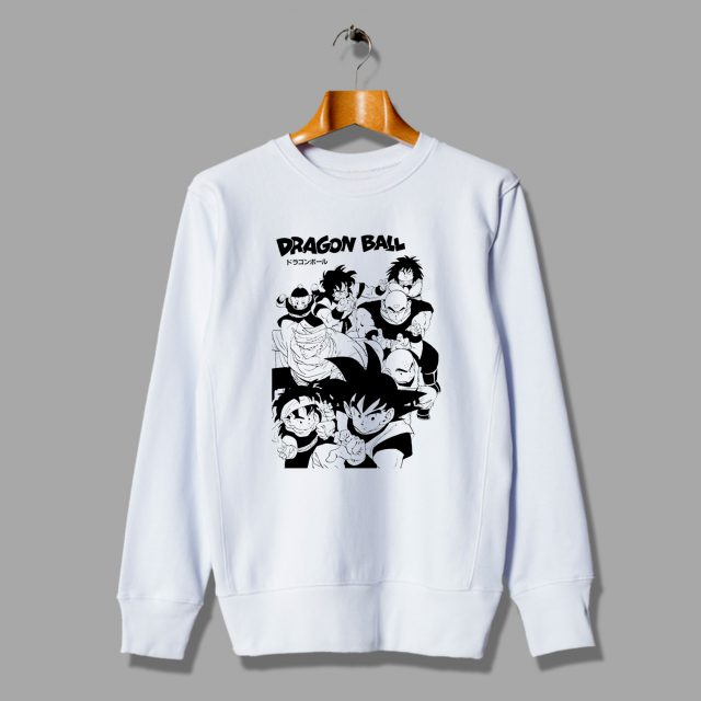 Dragon Ball Squad Goals Unisex Sweatshirt