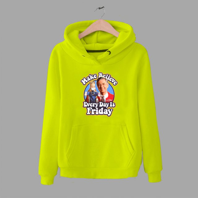 Every Day Is Friday Mister Rogers Quote Hoodie
