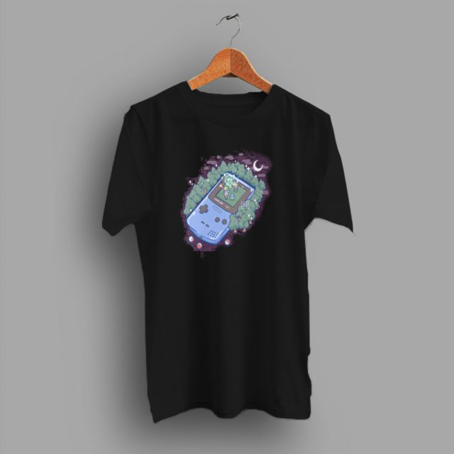 Favourite Pokemon Game On The Gameboy T Shirt