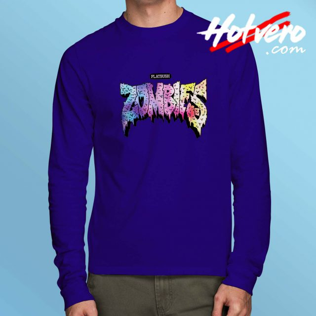 Flatbush Zombie Colorful Long Sleeve Shirt