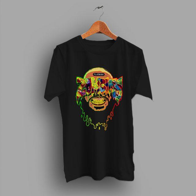 Flatbush Zombies Skull Hip Hop T Shirt Rapper Outfit