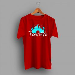 Fortnite Disney Castle Game T Shirt
