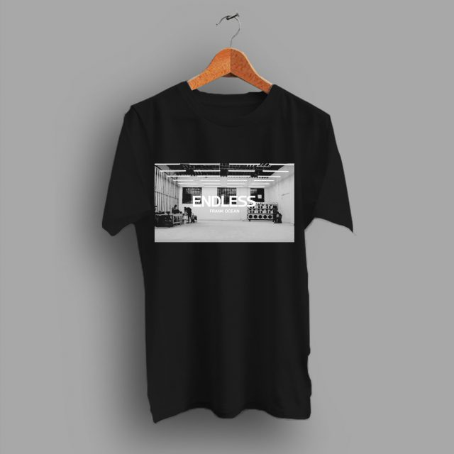 Frank Ocean Waiting Cover Album Endless For Him To Do T Shirt