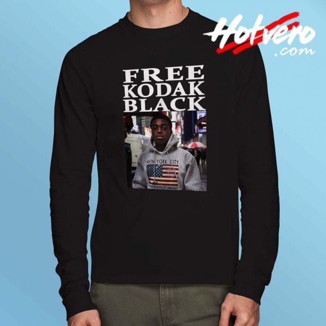 Free Kodak Black Hip Hop Long Sleeve T Shirt