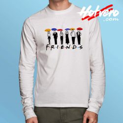 Friends TV Show Umbrella Long Sleeve Shirt