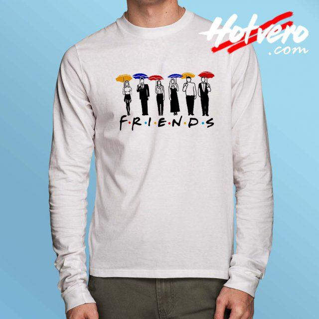 Friends TV Show Umbrella Long Sleeve Shirt