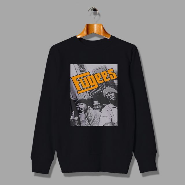 Fugess Vintage Hip Hop Rapper Sweatshirt