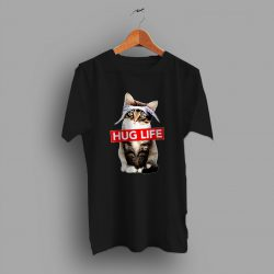 Funny Cat Thug Life Parody T Shirt