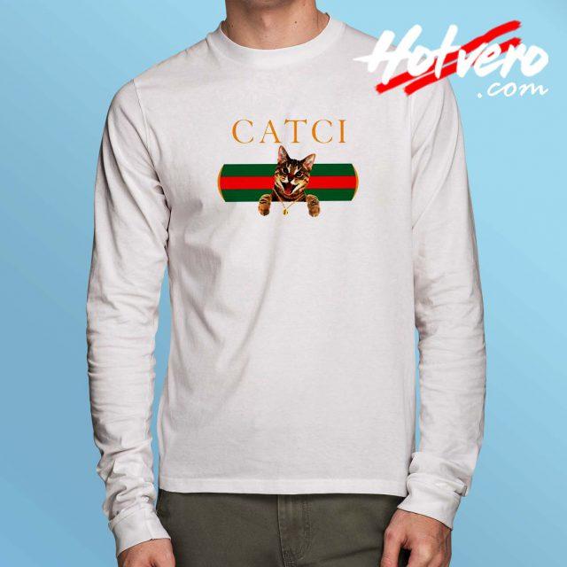 Funny Catci GC Parody Long Sleeve T Shirt