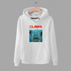 Funny Claws Jaws Movie Unisex Hoodie Parody