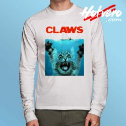 Funny Jaws Claws Long Sleeve T Shirt