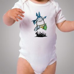 Funny Lol Totoro Batman Baby Onesie