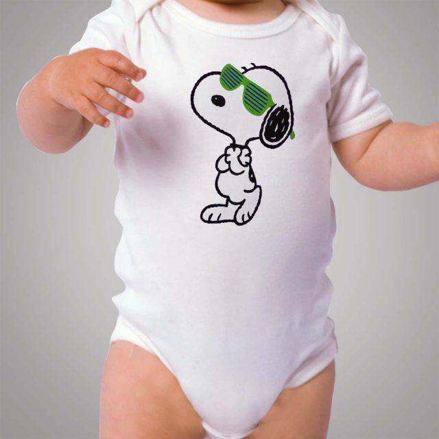 Funny Snoopy Swag Baby Onesie Bodysuit