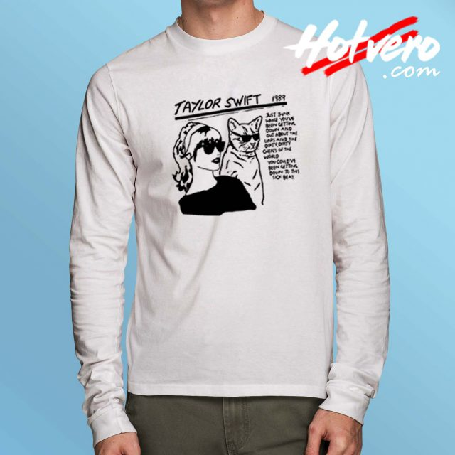 Funny Taylor Swift 1989 Sonic Youth Long Sleeve Shirt