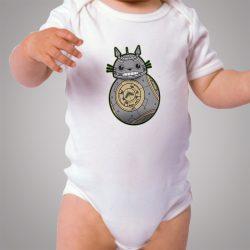 Funny Totoro BB 8 Star Wars Baby Onesie