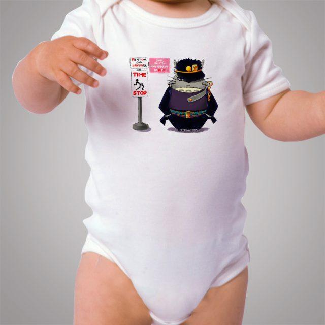 Funny Totoro Ghibli Police Style Baby Onesie