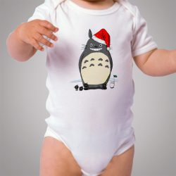 Funny Totoro Snowman Cheap Baby Onesie