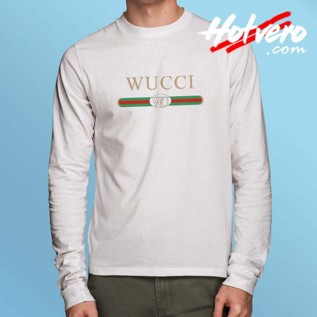 Funny Wucci GC Inspired Long Sleeve T Shirt