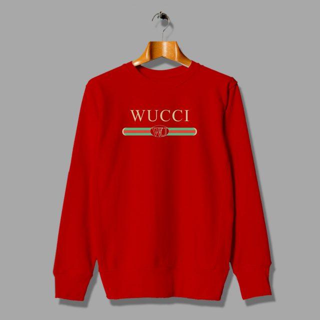Funny Wucci GC Inspired Unisex Sweatshirt