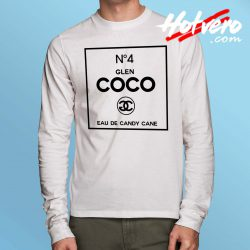 Glen Coco Candy Cane Long Sleeve Shirt