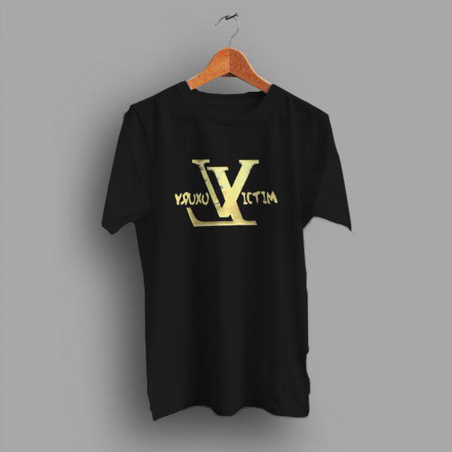 Gold Money Luxury Victim LV Urban T Shirt
