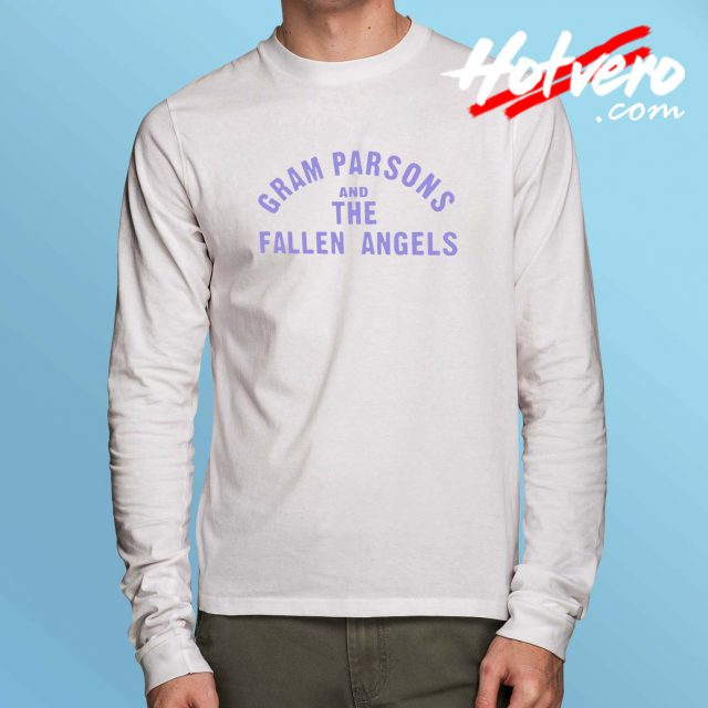 Gram Parsons And The Fallen Angels Long Sleeve T Shirt