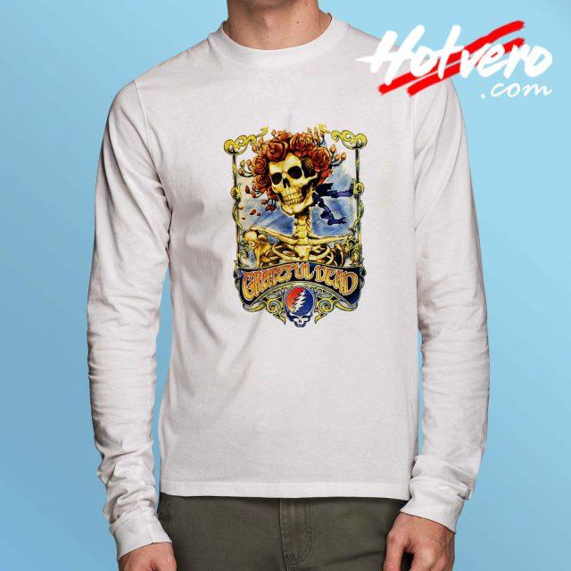 Grateful Dead Big Bertha Skull Long Sleeve Shirt