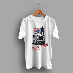 Grover Washington Michael Jackson Bad Tour Pepsi Promo Concert T Shirt