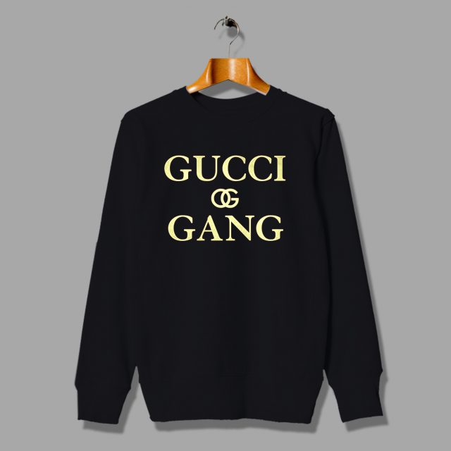 Gucci Gang Hip Hop Rapper Unisex Sweatshirt