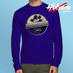 Guy Harvey Tuna Boat Long Sleeve T Shirt