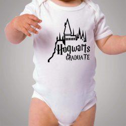 Harry Potter Graduate Hogwarts School Baby Onesie