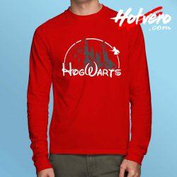 Harry Potter Hogwarts Disney Castle Long Sleeve T Shirt