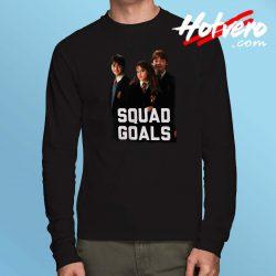 Harry Potter Squad Goals Long Sleeve Shirt