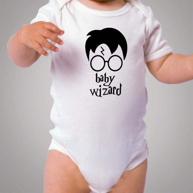 Harry Potter Wizard Baby Onesie Bodysuit