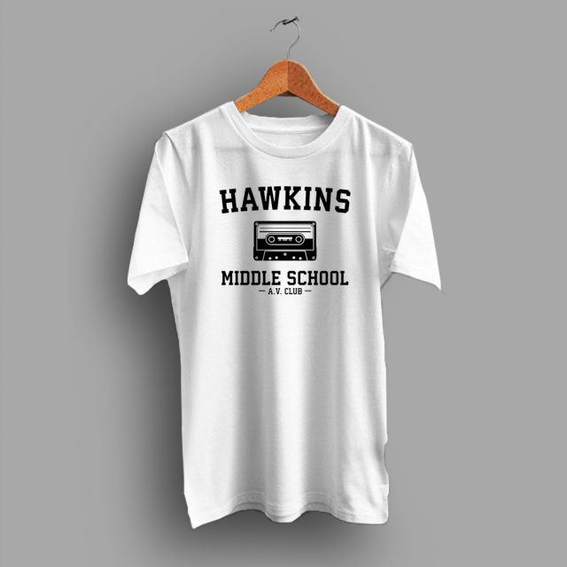 Hawkins Middle School Av Club College T Shirt