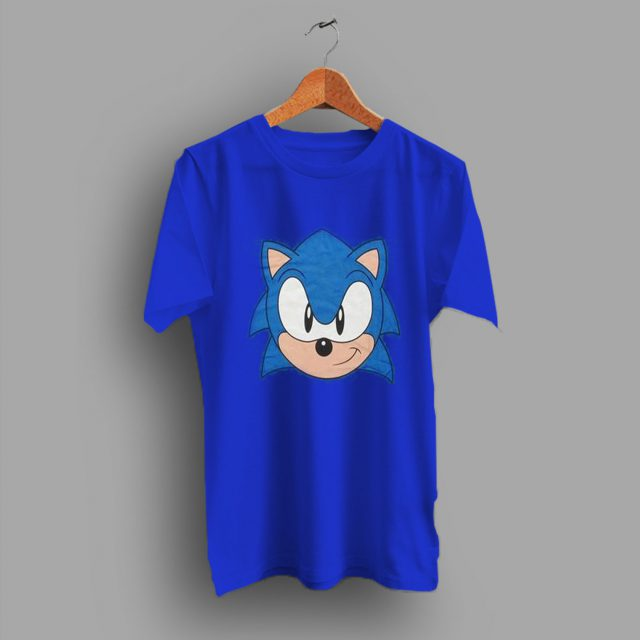 Head Youth Sonic The Hedgedog Vintage T Shirt