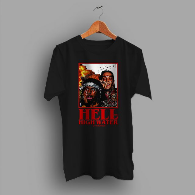 Hell or High Water City Morgue Hip Hop T Shirt