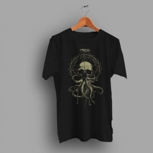 Horror Themed Inspired Cthulhu Cultist Gift Geek T Shirt
