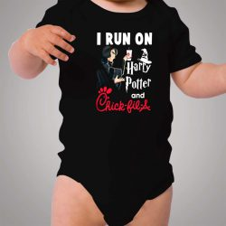 I Run On Harry Potter And Chick Fil A Baby Onesie