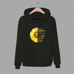 Im A Happy Go Lucky Sunflower Unisex Hoodie